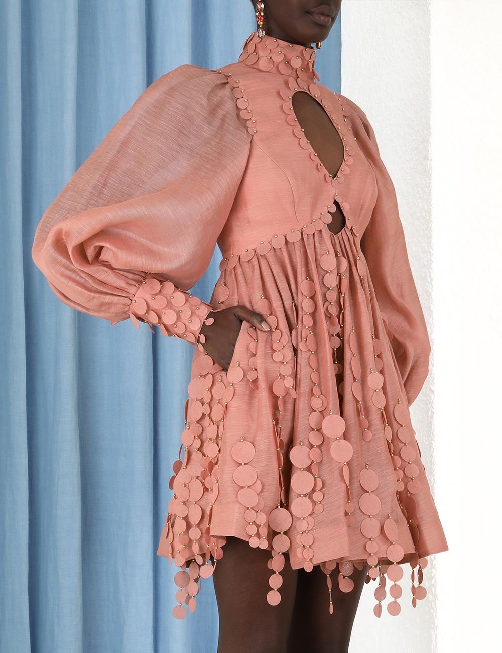 Concert Disc Mini Dress