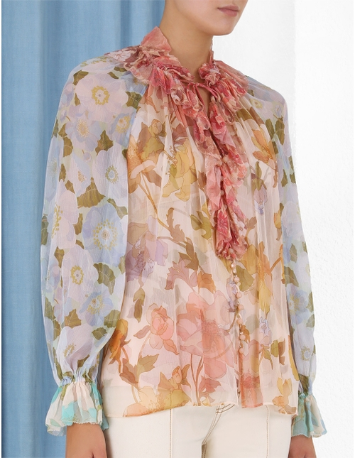 Tempo Frilled Blouse