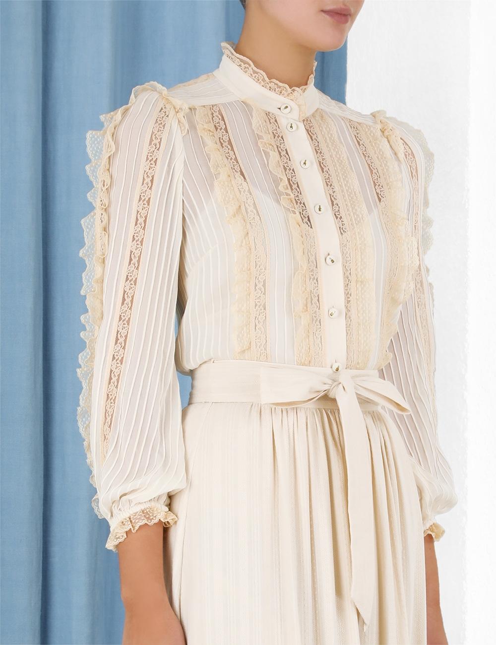 Tempo Crochet Trim Skirt