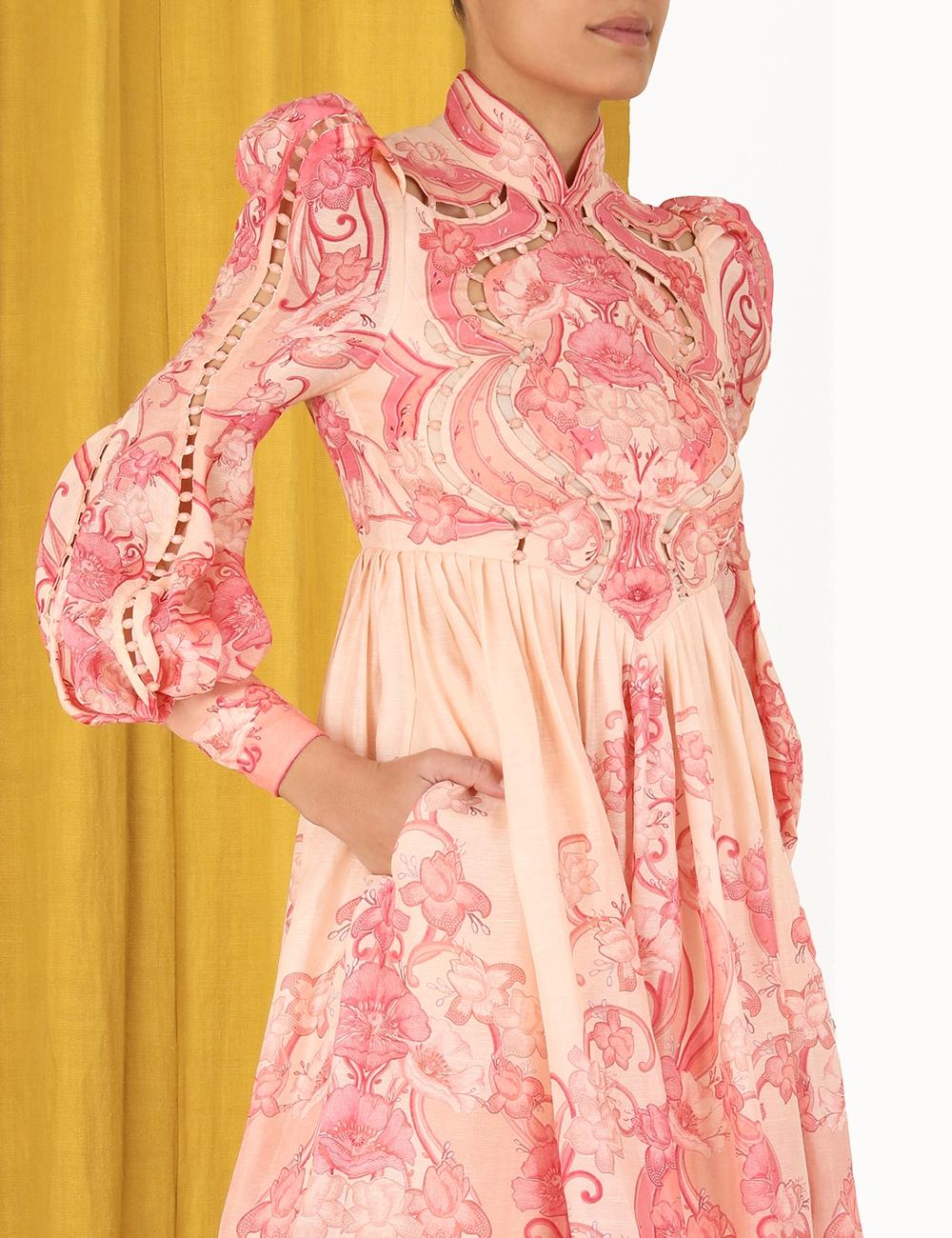 Concert Poppy Midi Dress