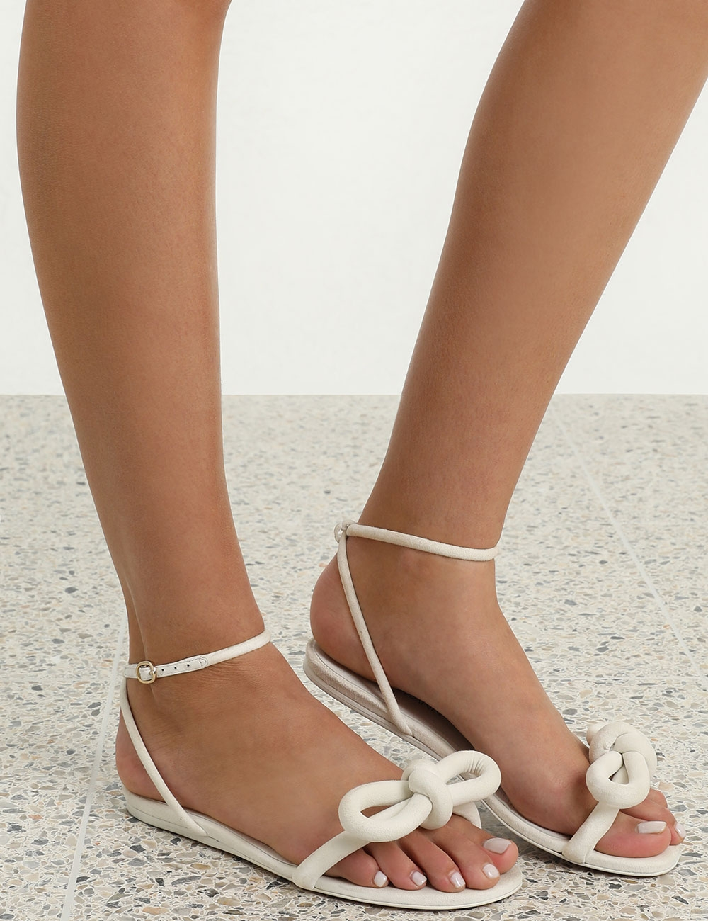 Sculptural Bow Sandal