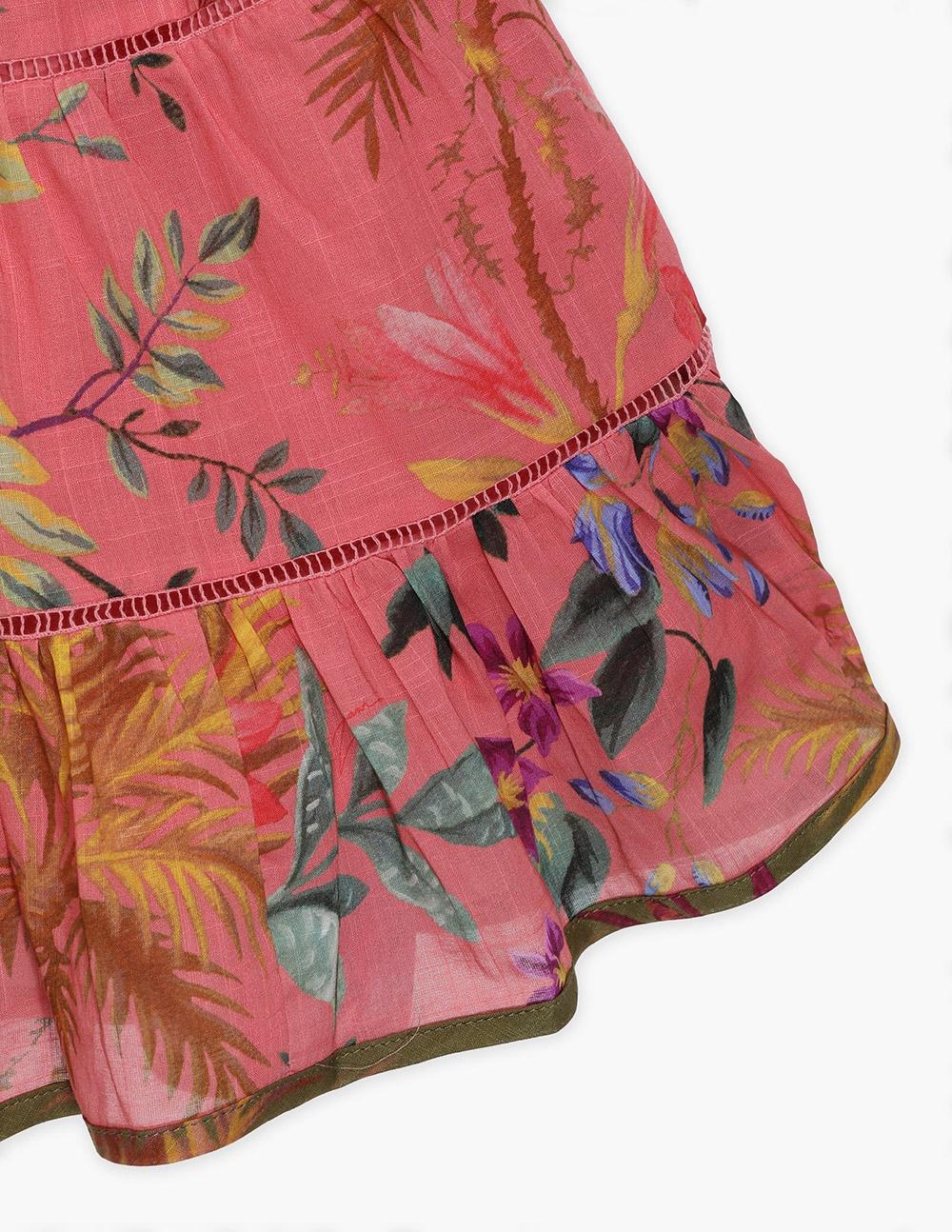 Tropicana Flounce Skirt