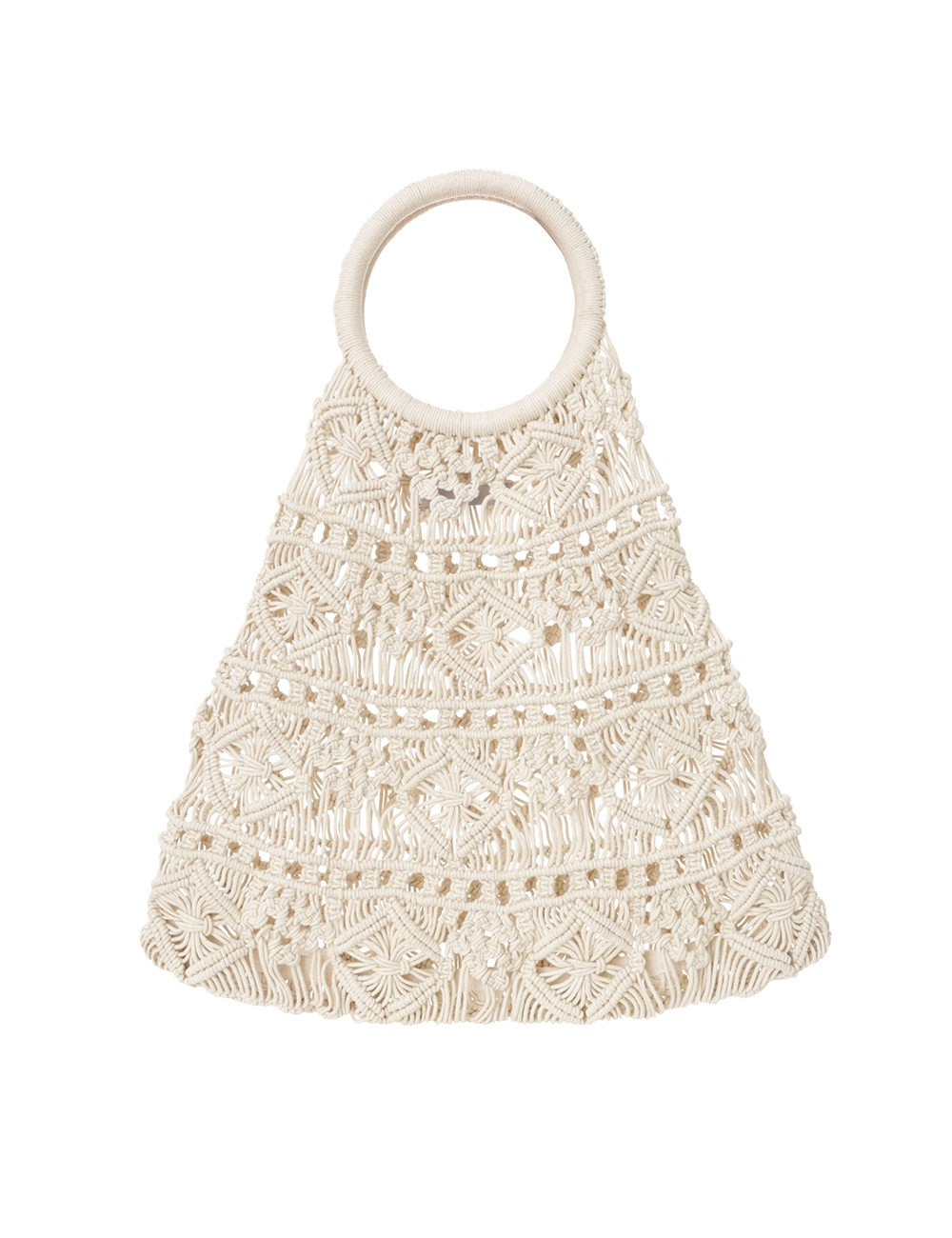 Macrame Natural Shopper