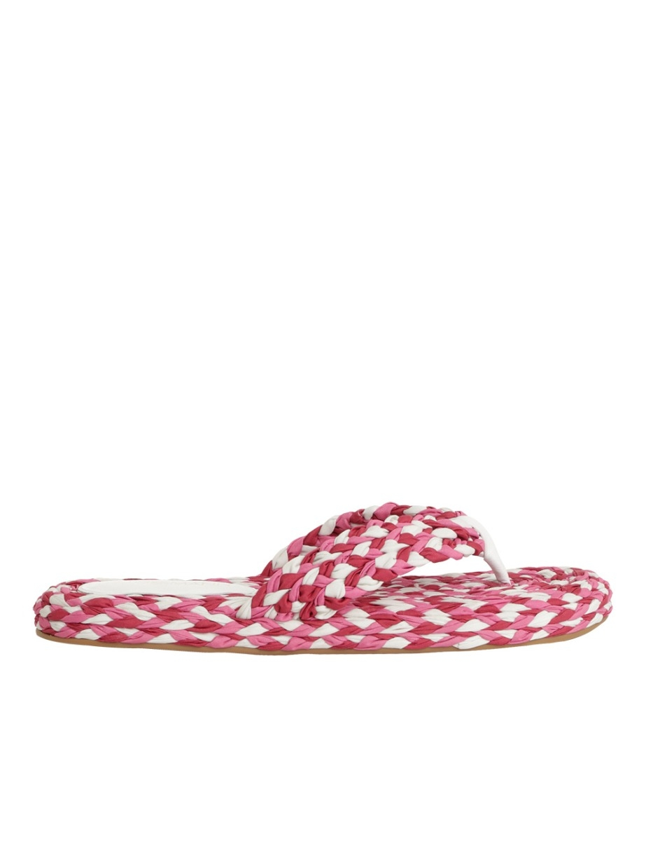 Cotton Braid Sandal