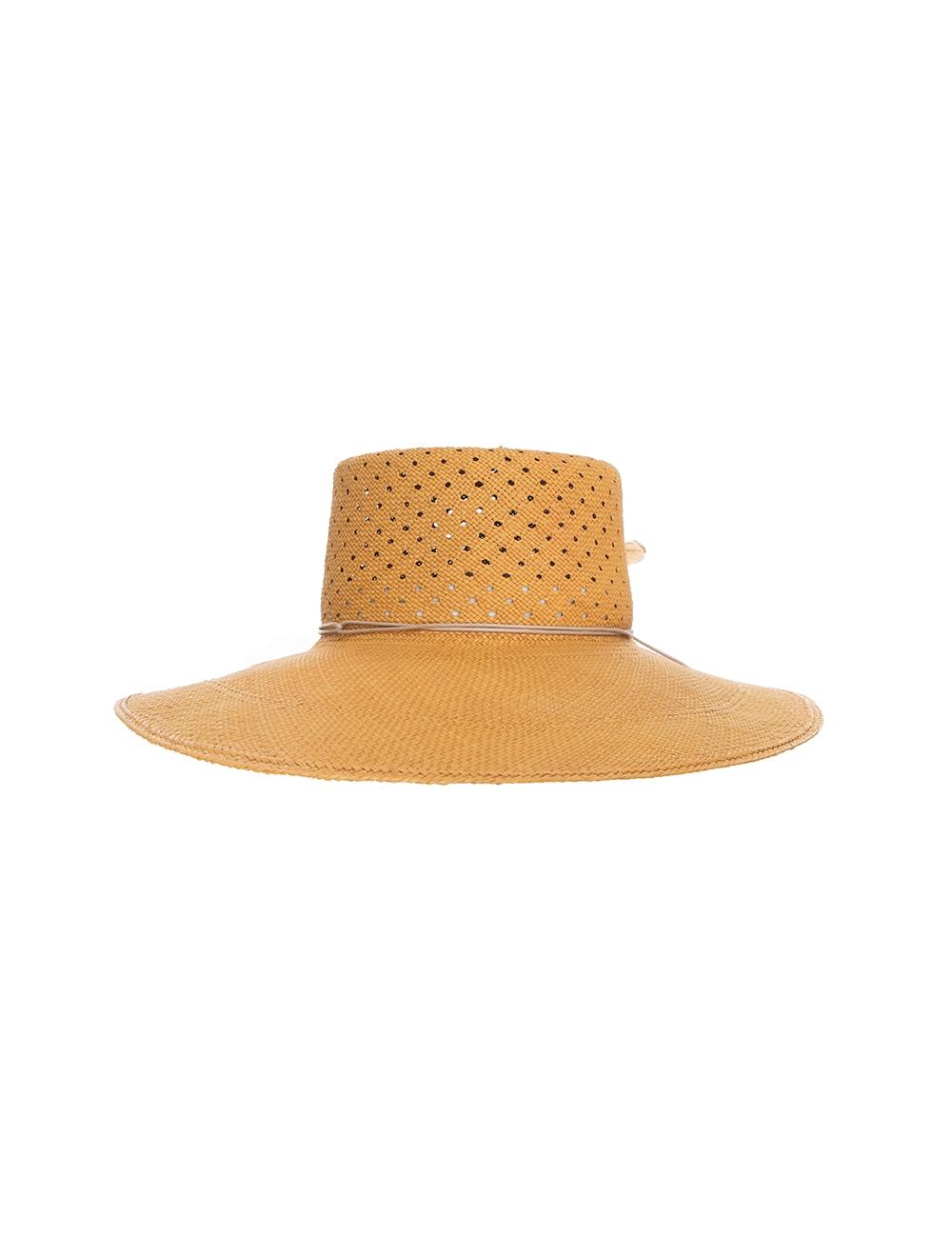 Vent Crown Panama Hat