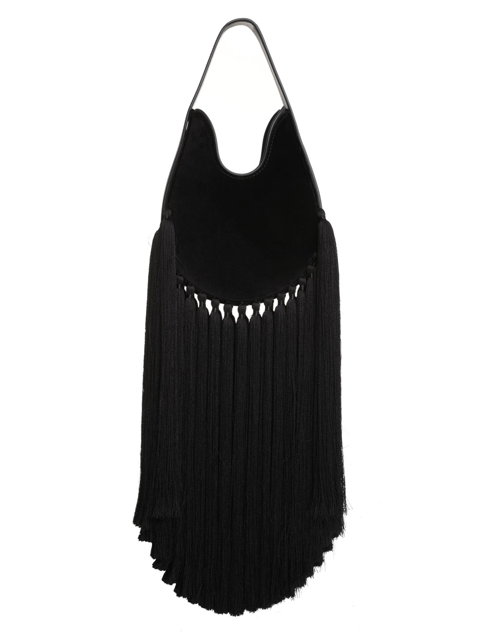 Small Velvet Fringe Hobo