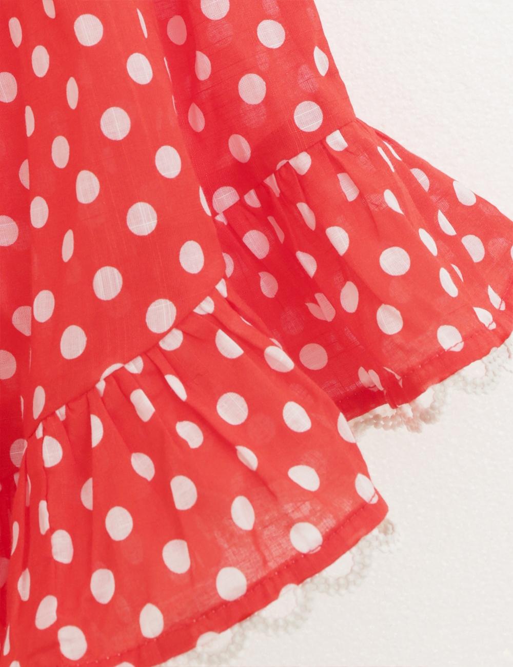 Zinnia Shoulder Tie Dress