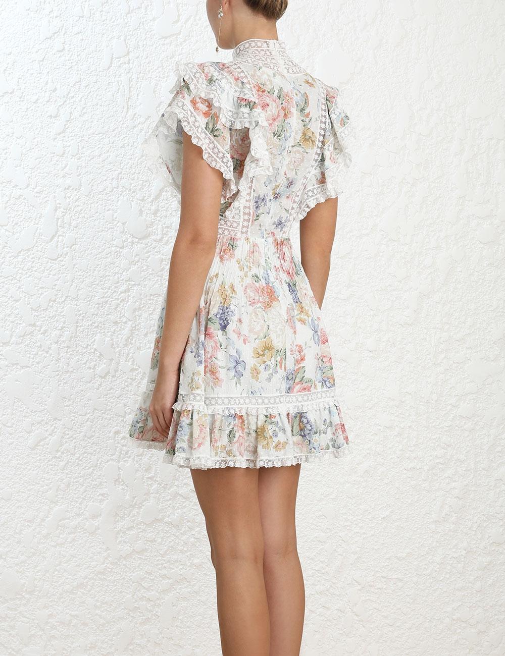 Bowie Frill Mini Dress