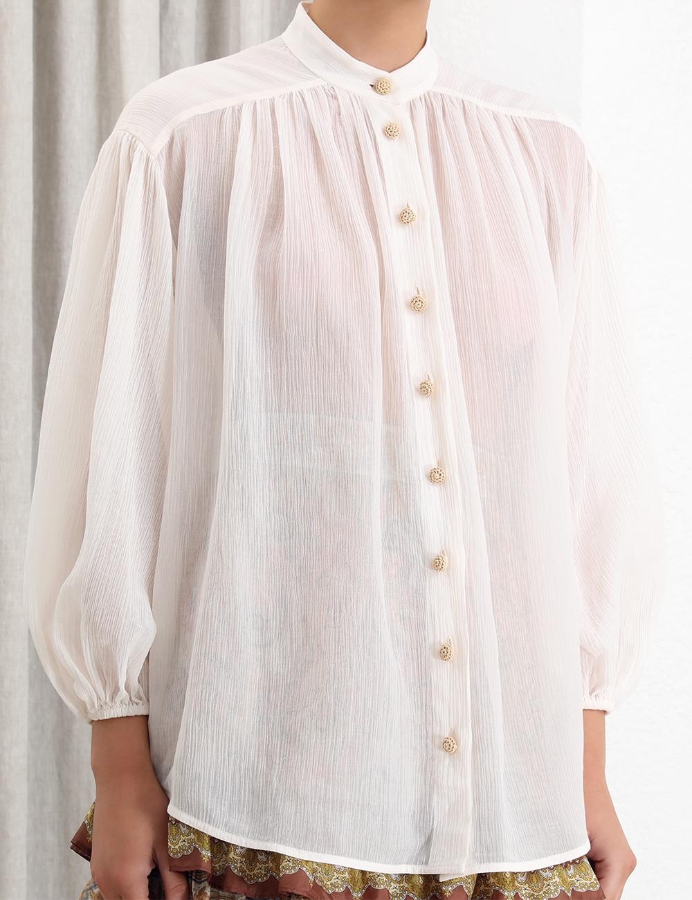 Freja Crinkle Shirt