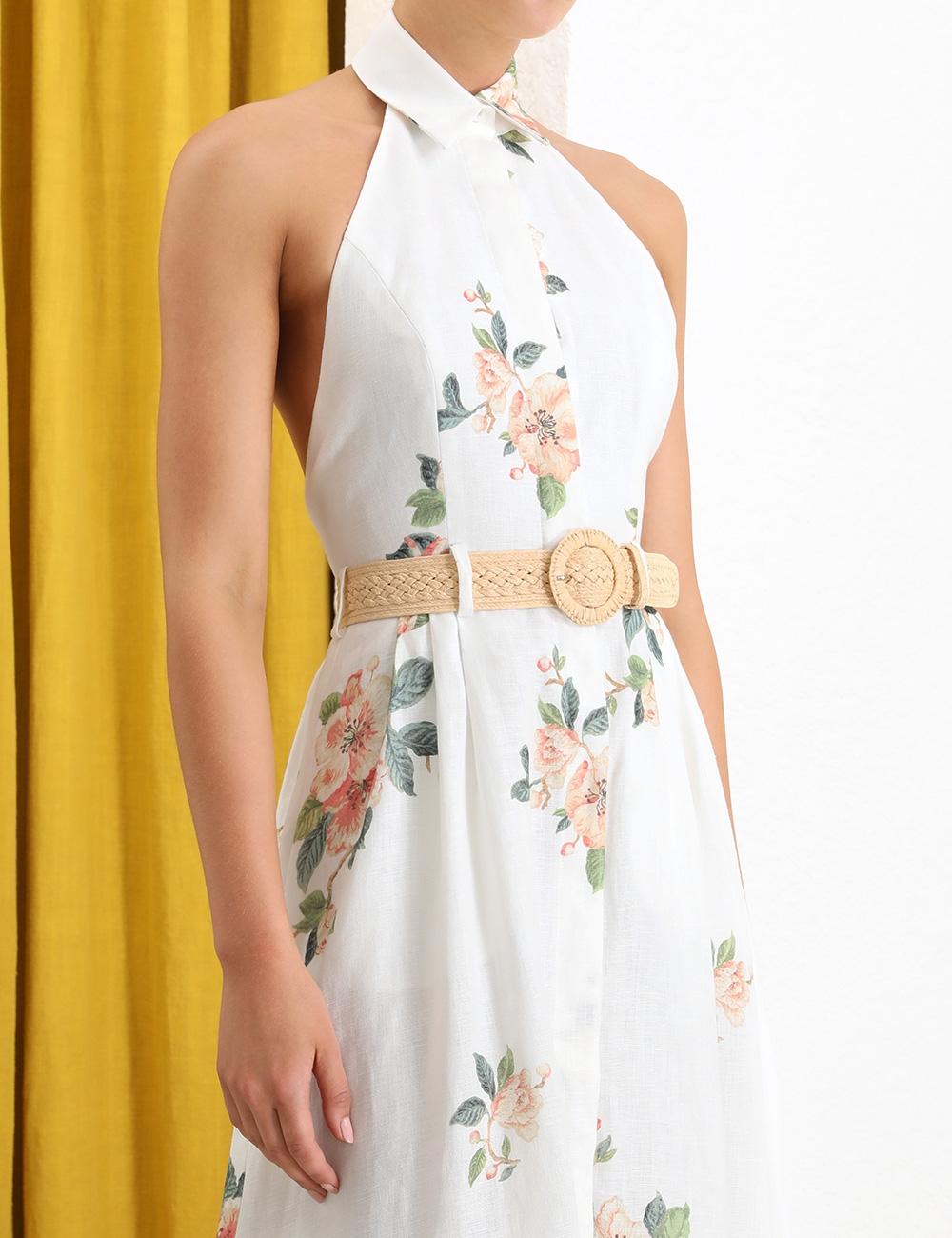 Kirra Halterneck Long Dress