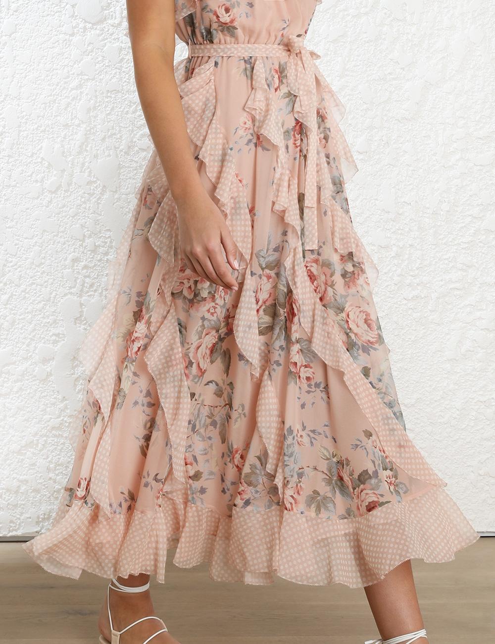 Bowie Waterfall Dress