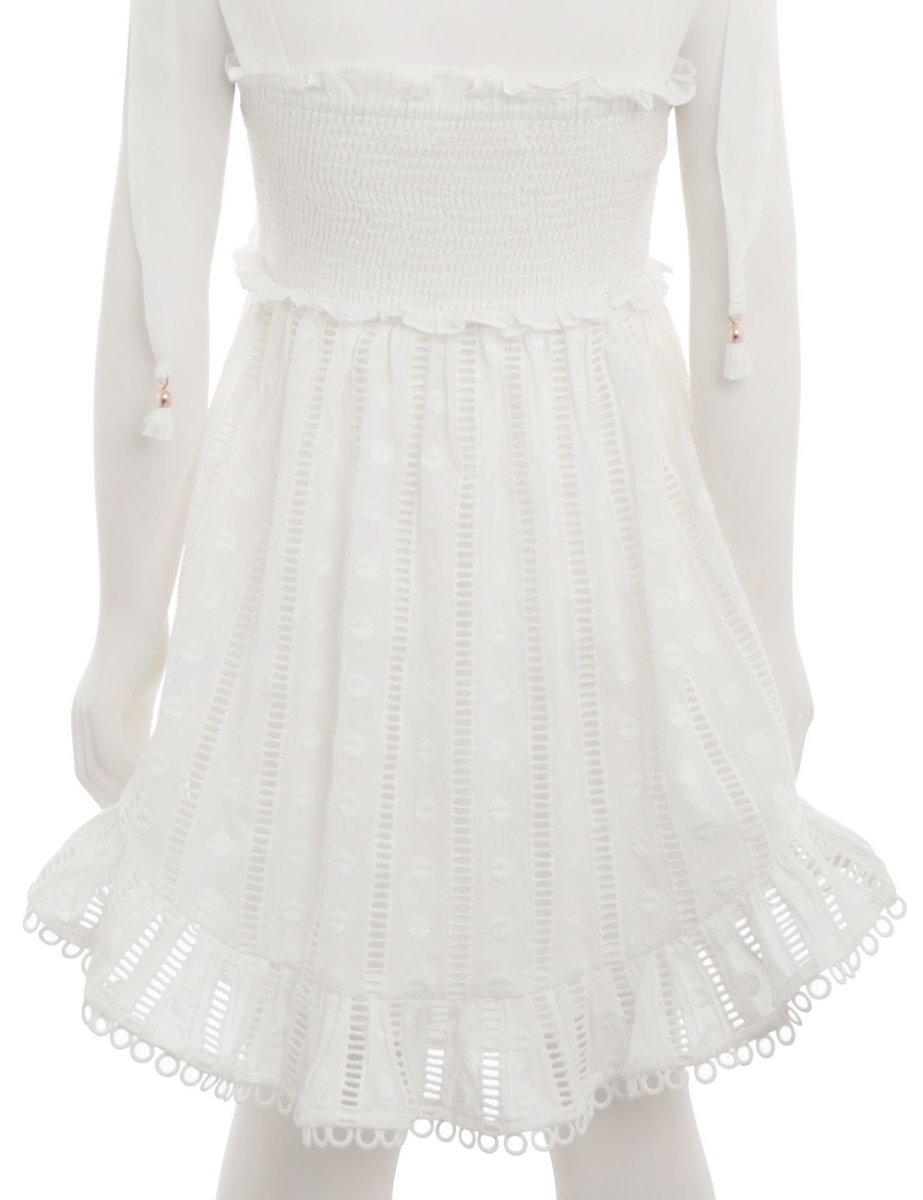 Primrose Shirred Short Dress