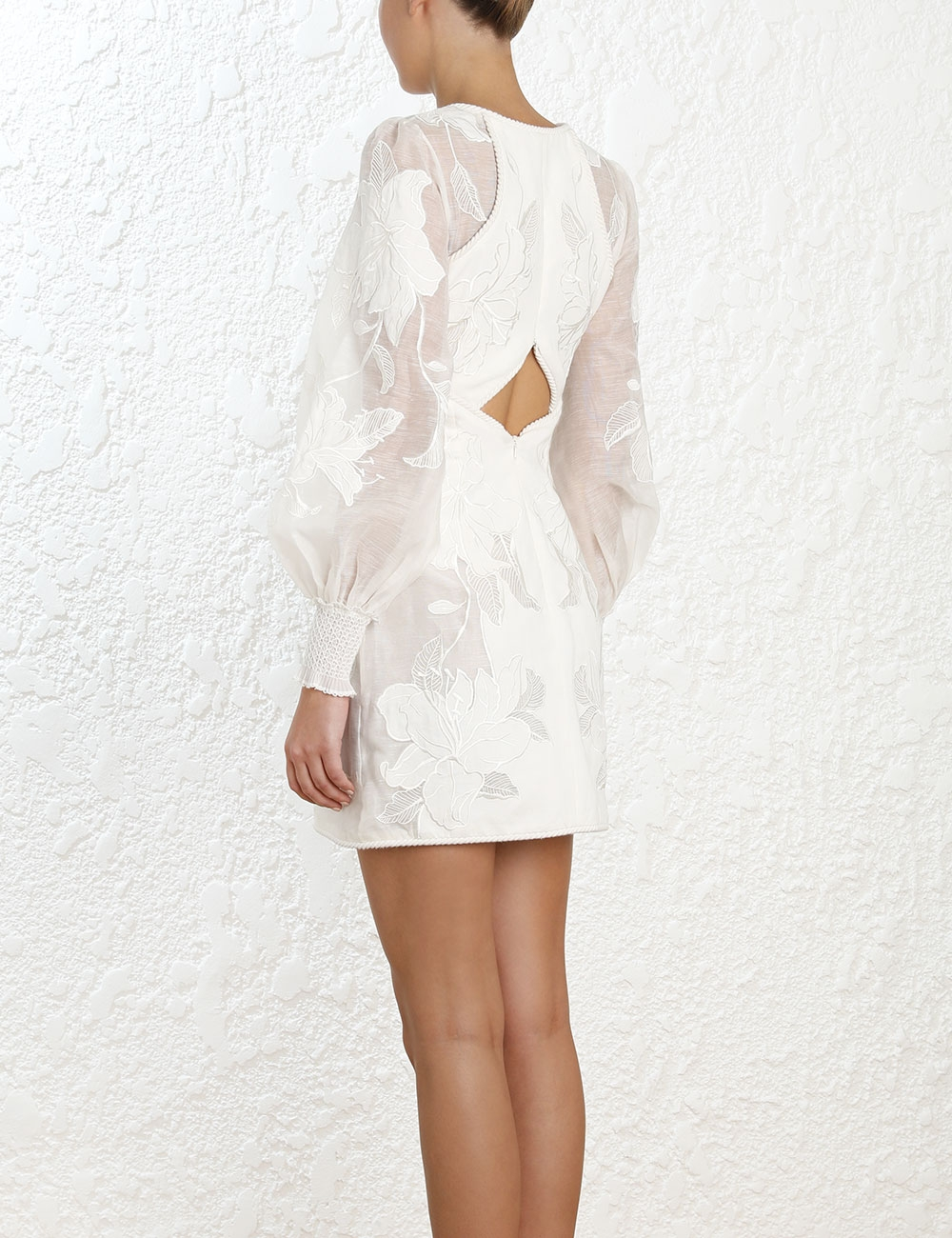 Corsage Applique Dress