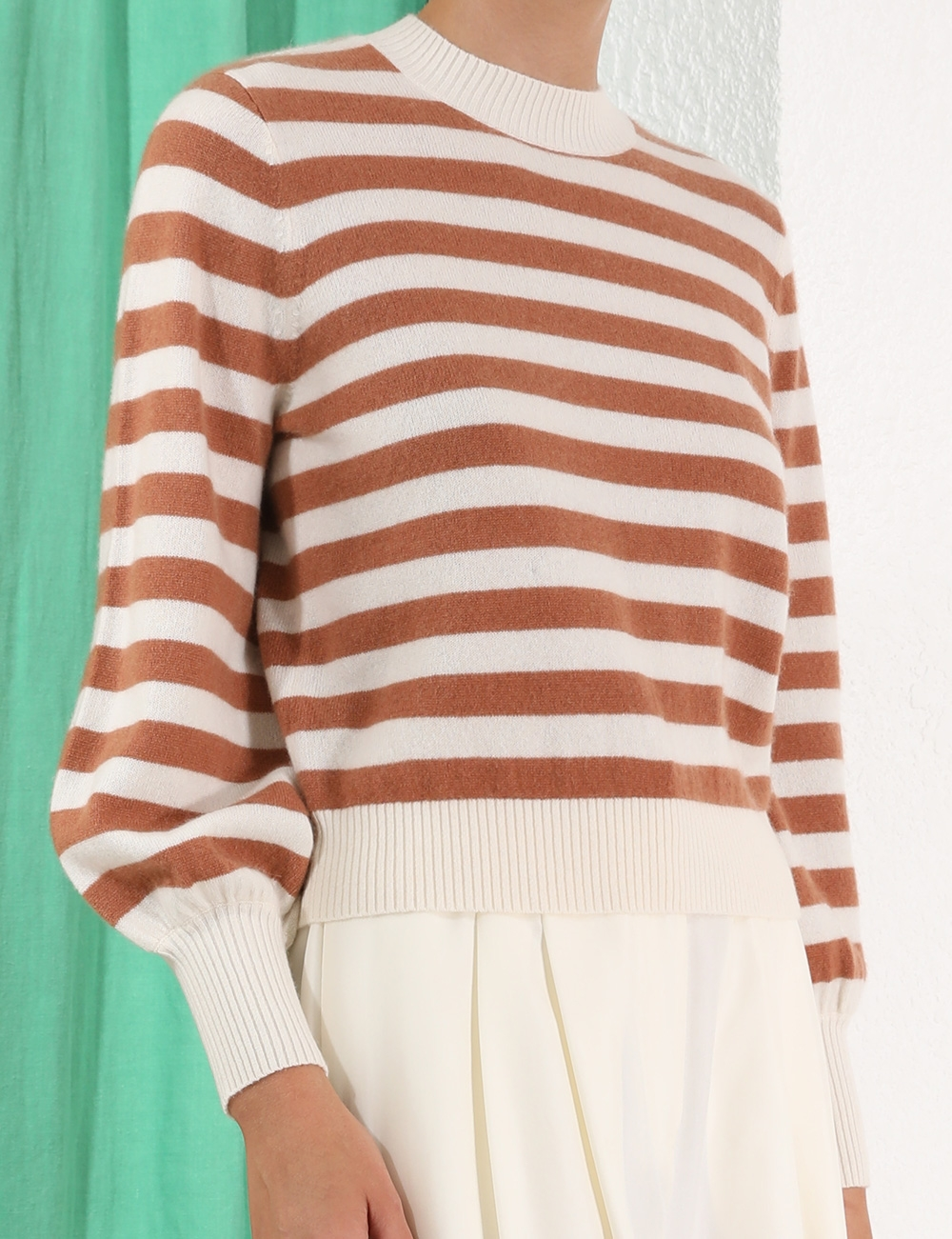 Zippy Cashmere Top