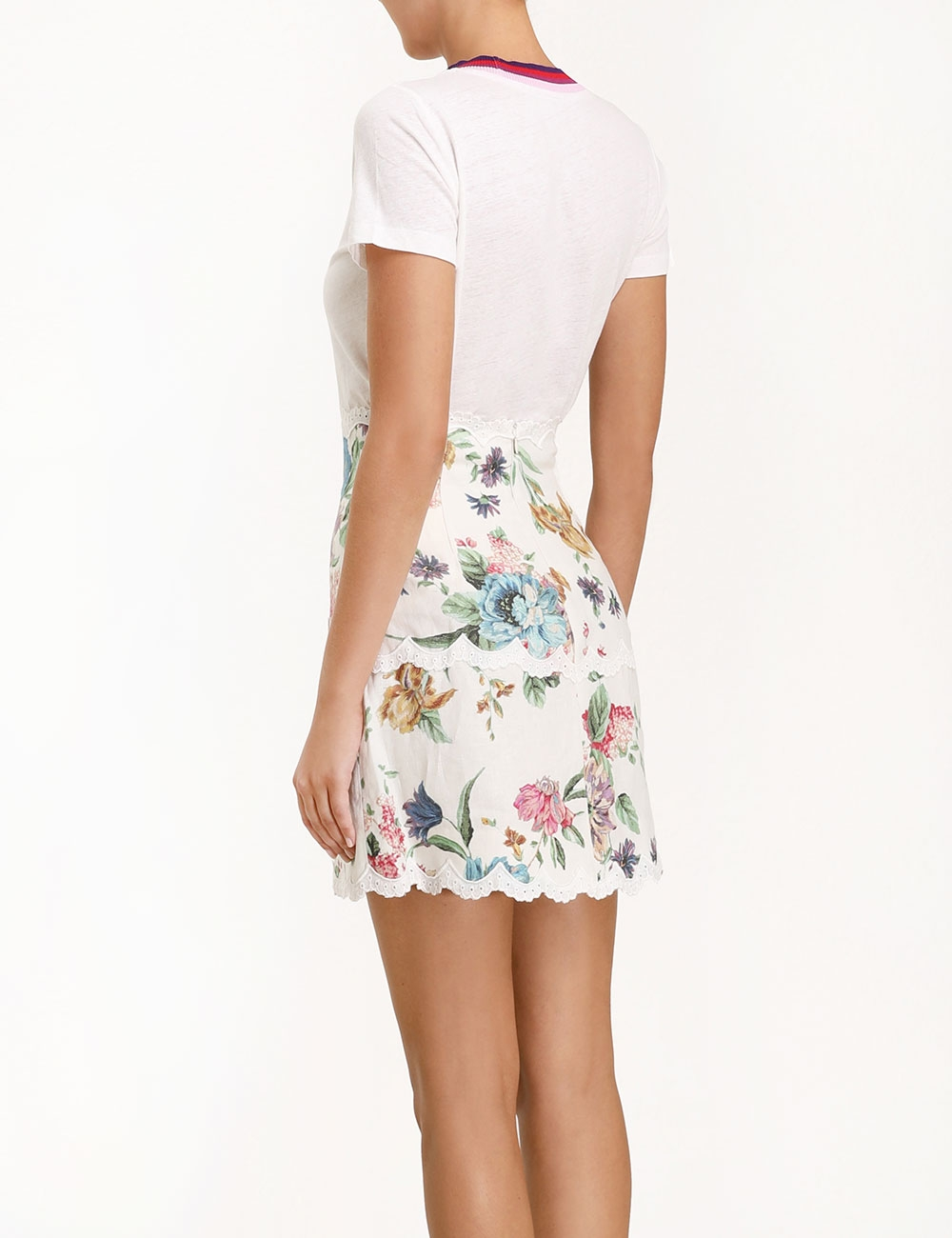 Ninety-Six Scallop Skirt