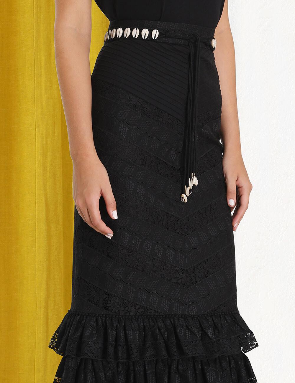 Veneto Perennial Lace Skirt