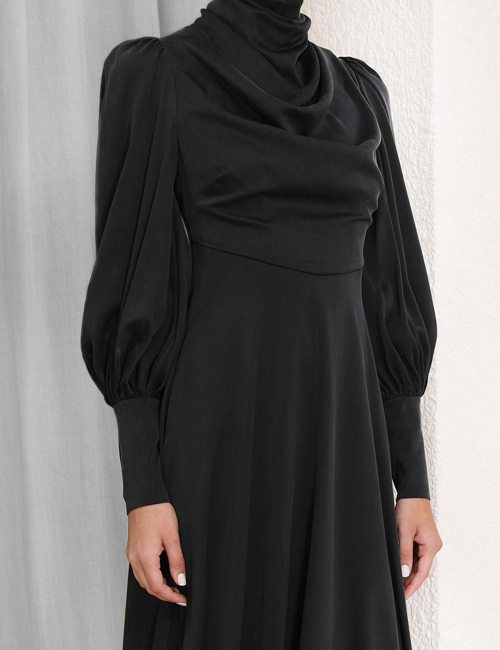Cowl Dress