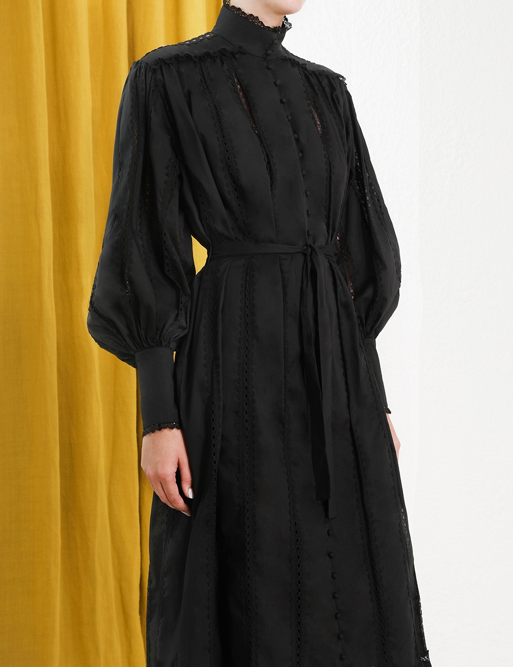 Lace Smock Dress