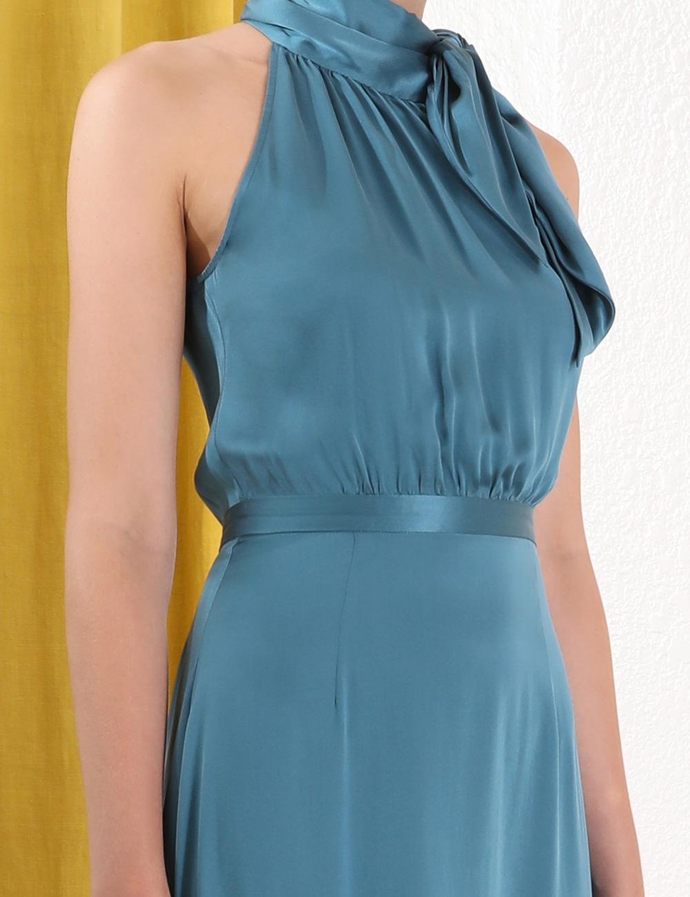 Necktie Picnic Dress