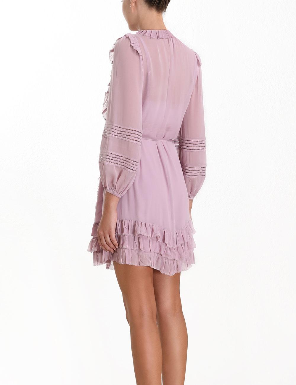 Ninety-Six Linear Mini Dress