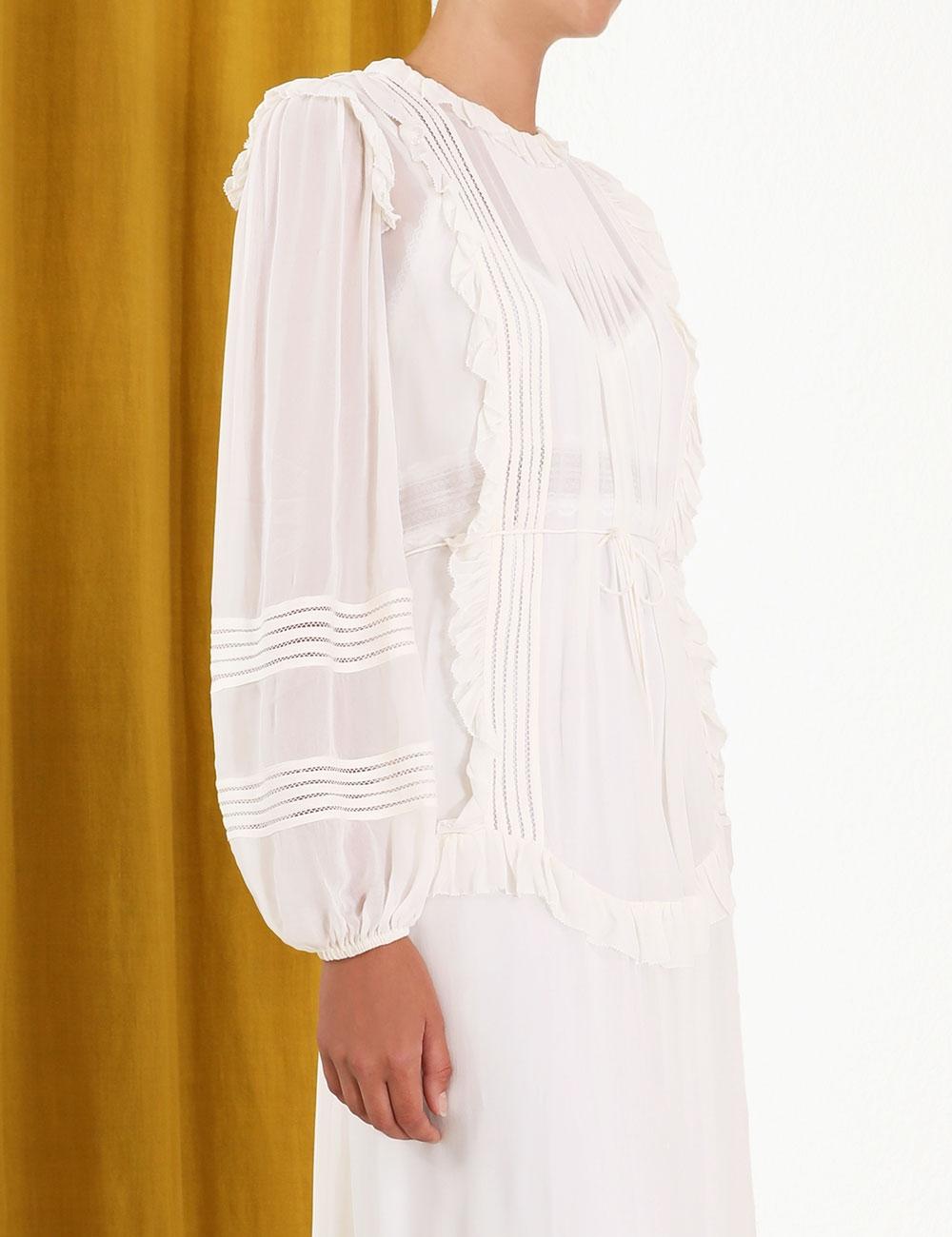 Ninety-Six Linear Midi Dress