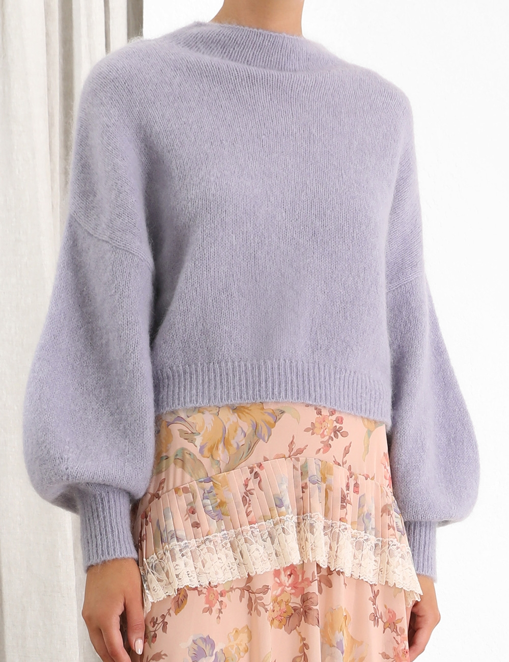 Espionage Lantern Sweater