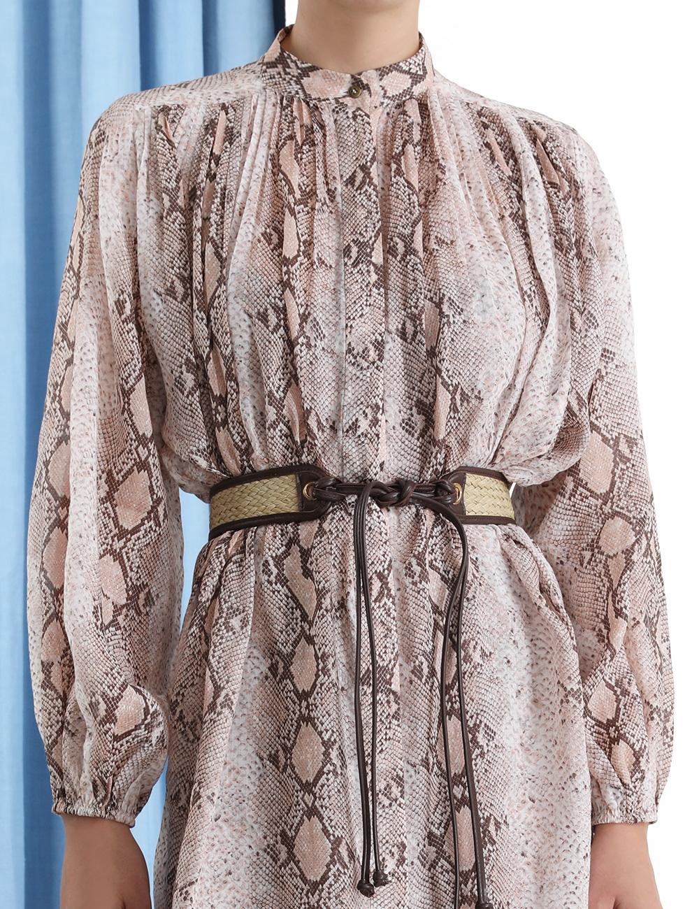 Bellitude Long Shirt Dress