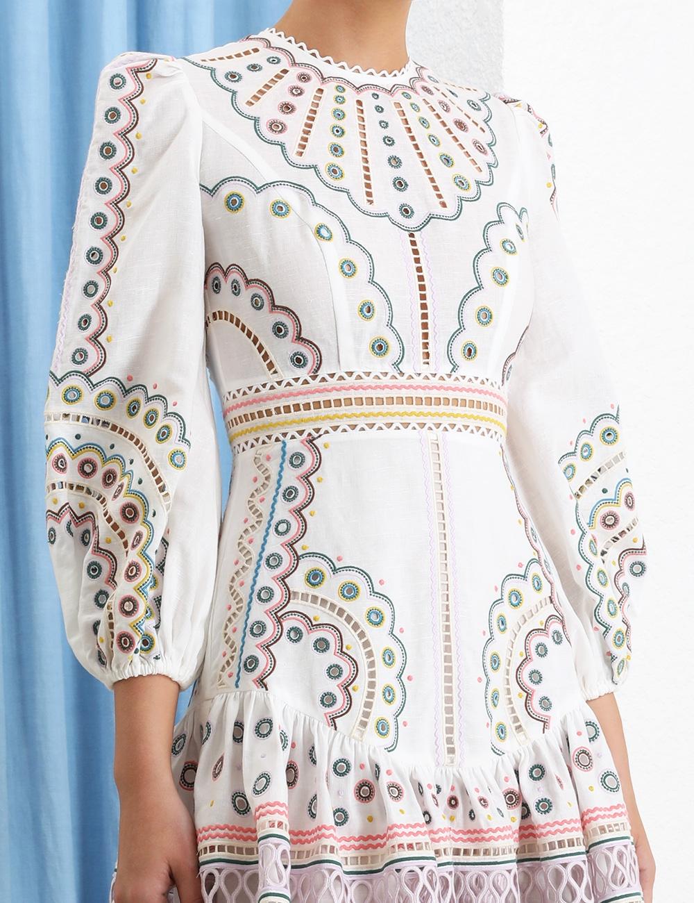 Peggy Multi Short Dress