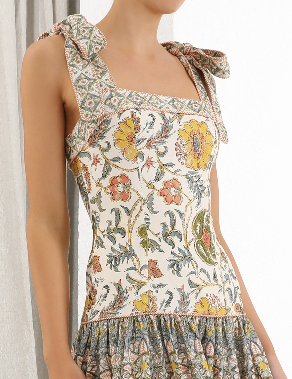 Edie Tie Mini Dress