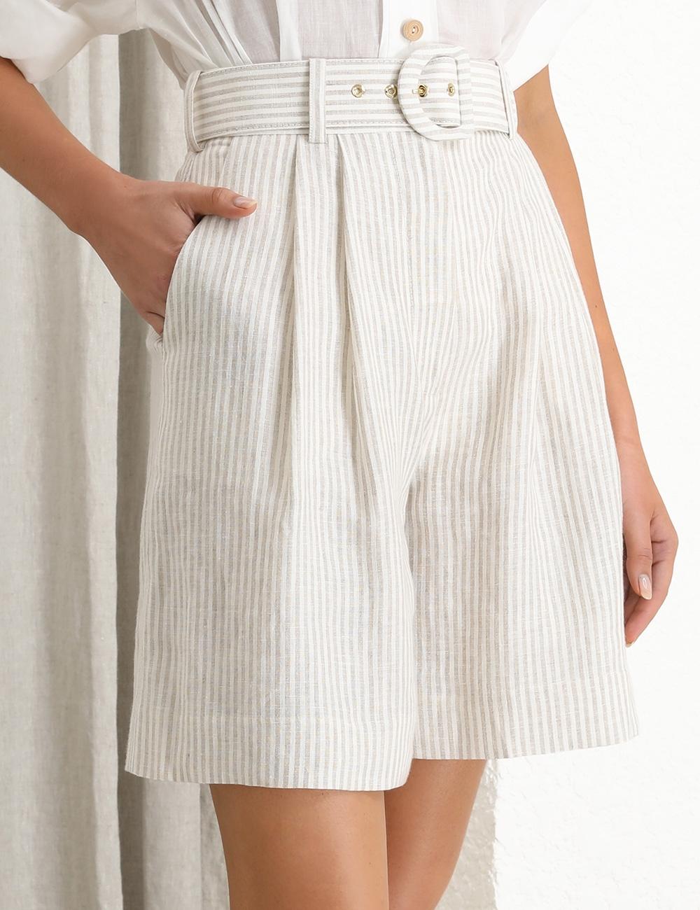 Super Eight Striped Culotte