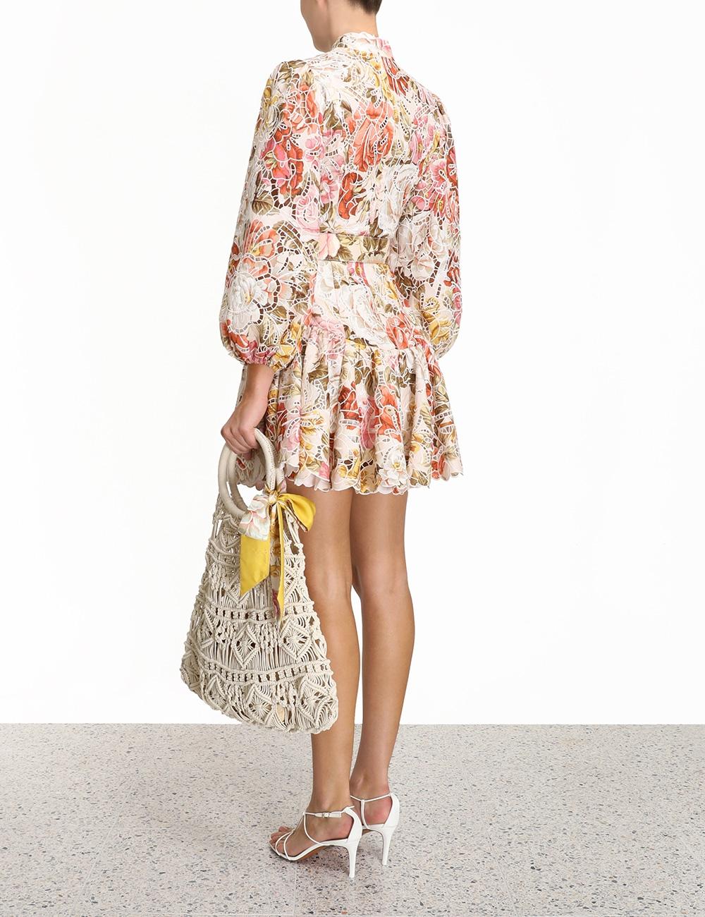 Bonita Embroidered Short Dress