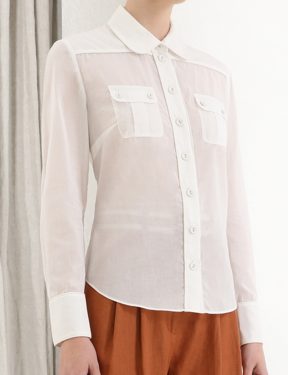 Super Eight Piped Shirt