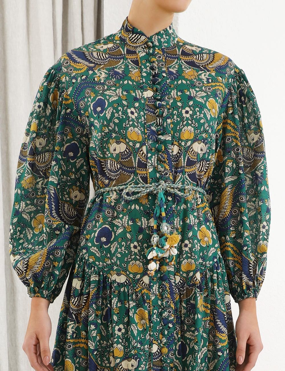 Edie Drop Waist Long Dress