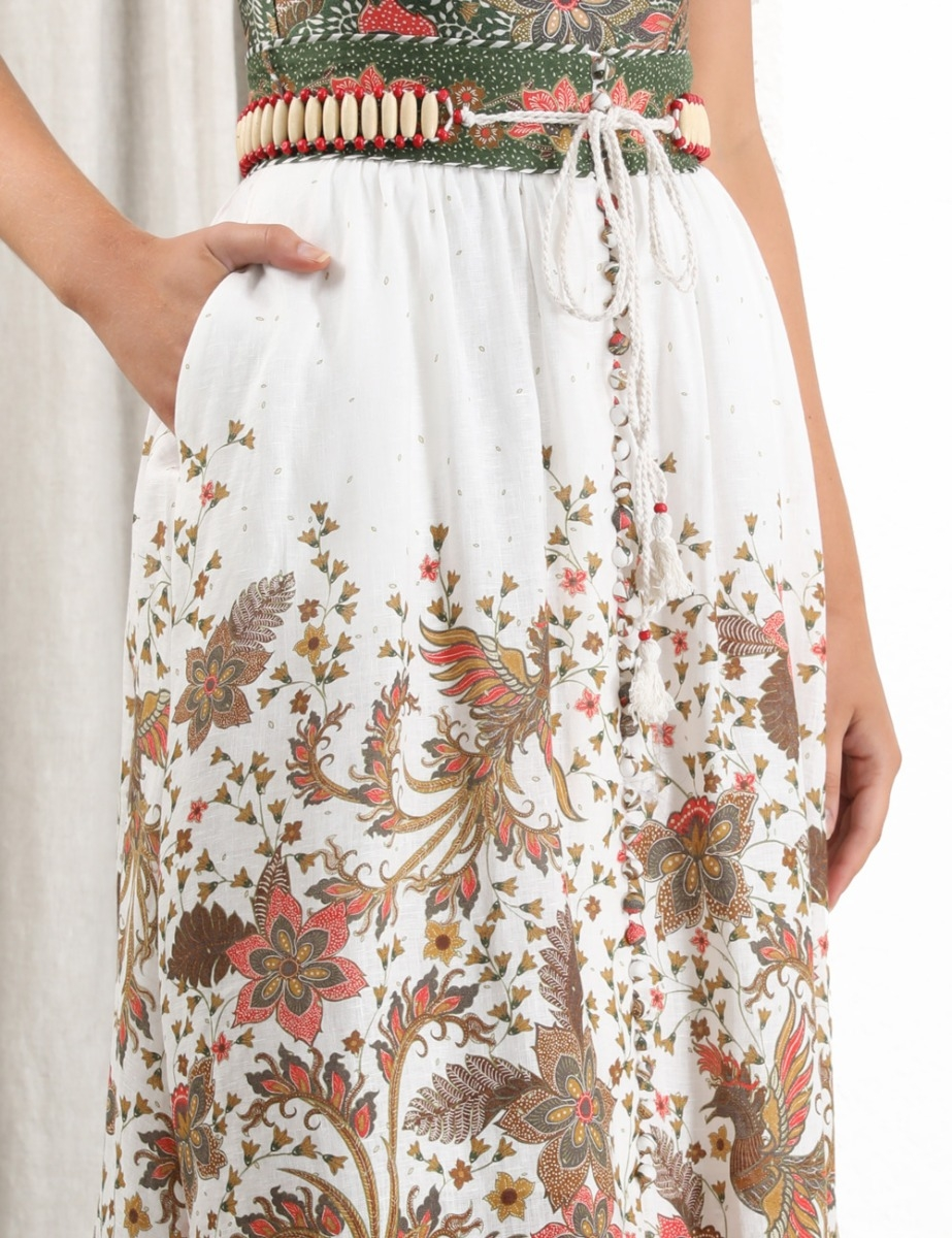 Empire Batik Skirt