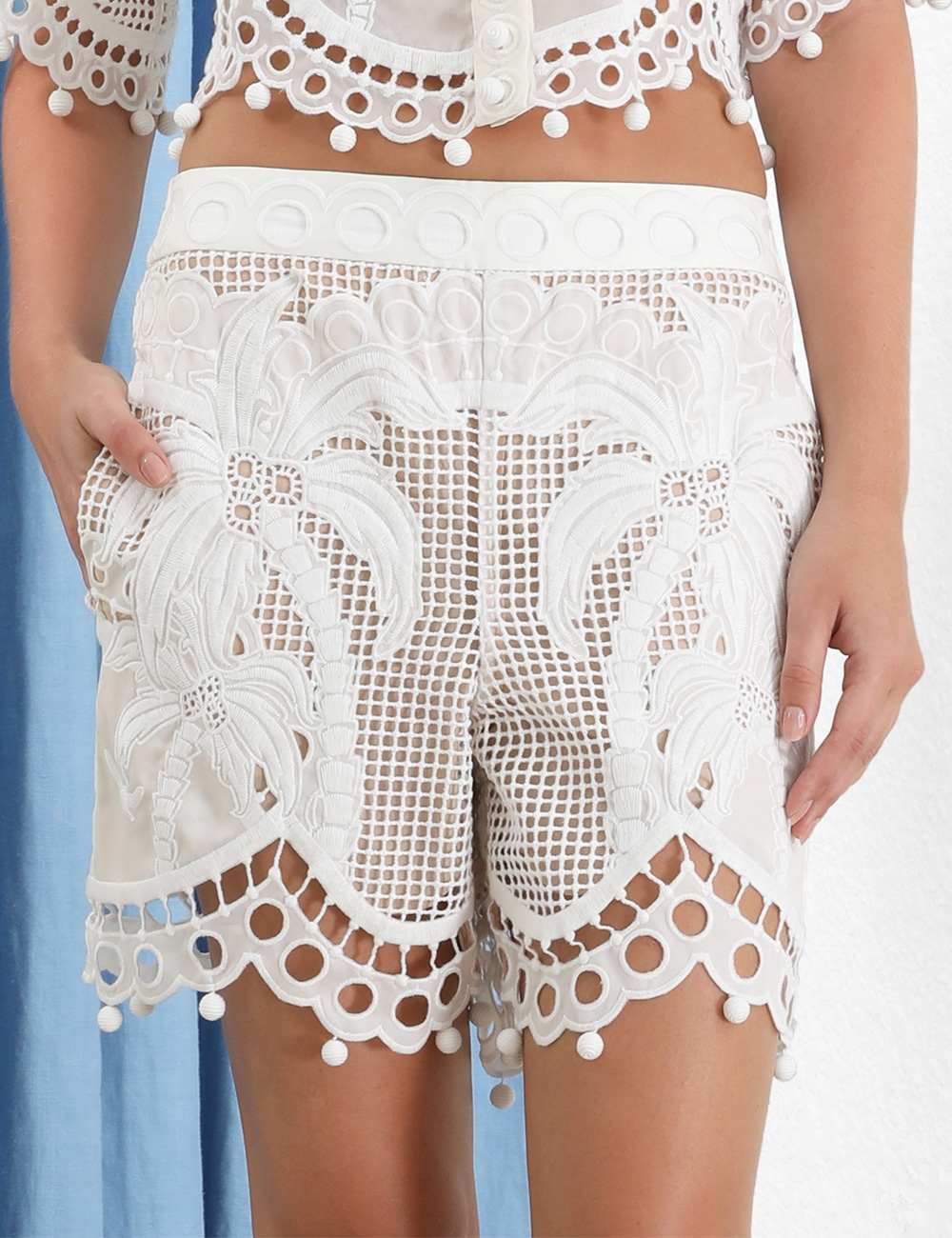 Brightside Palm Shorts