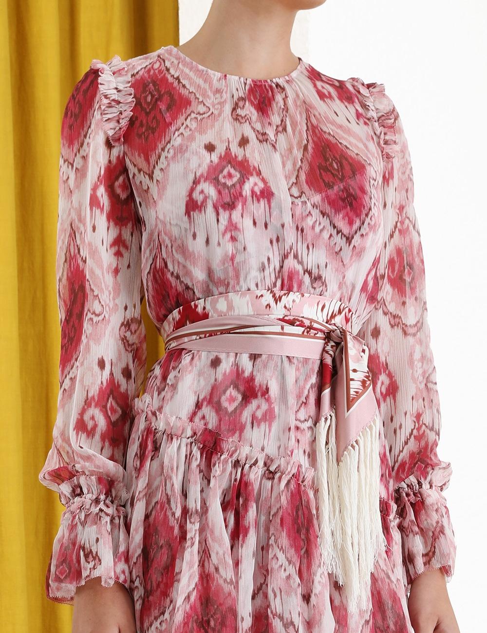 Wavelength Asymmetric Dress