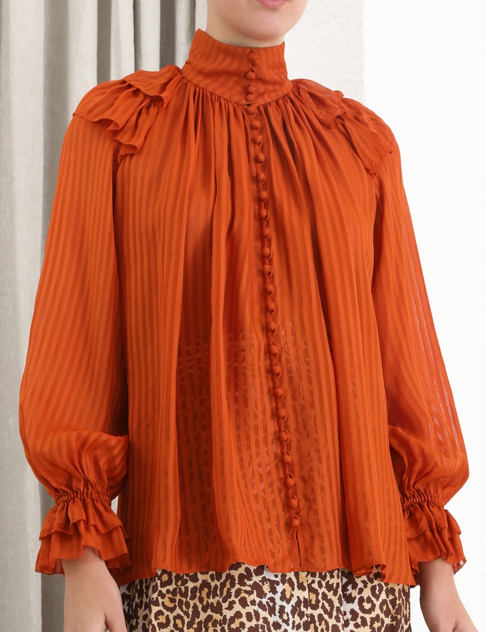 Brightside Frilled Blouse