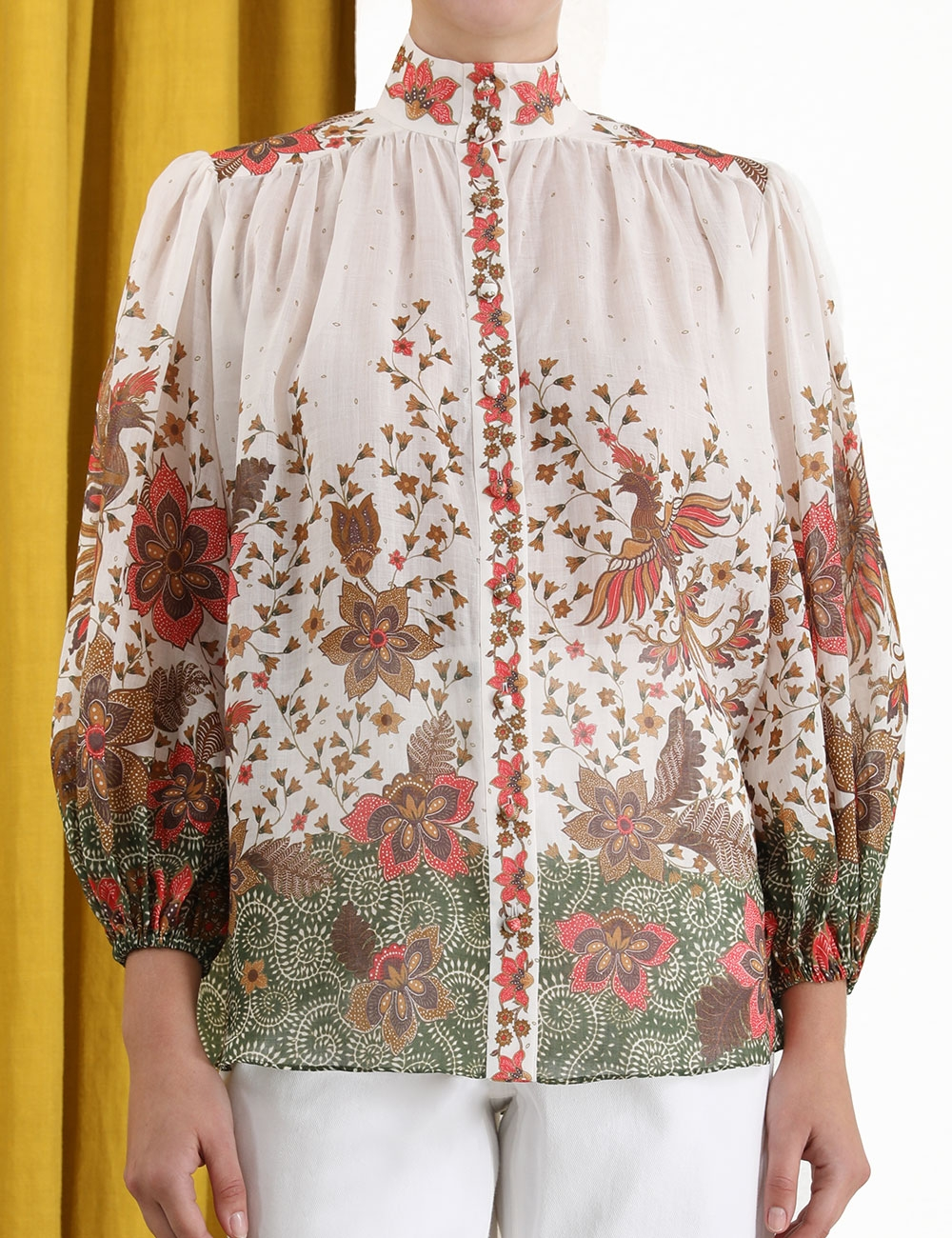 Empire Batik Blouse