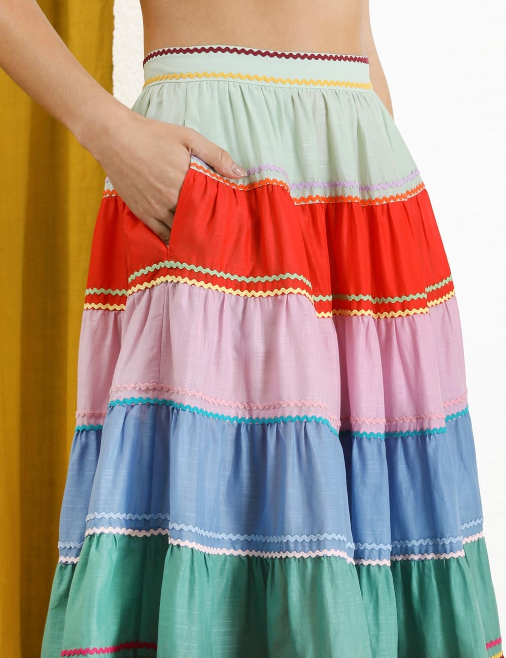 Riders Multi Tiered Skirt