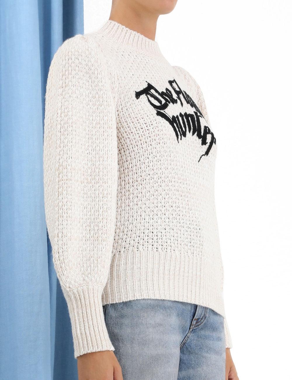 Botanica Motif Sweater