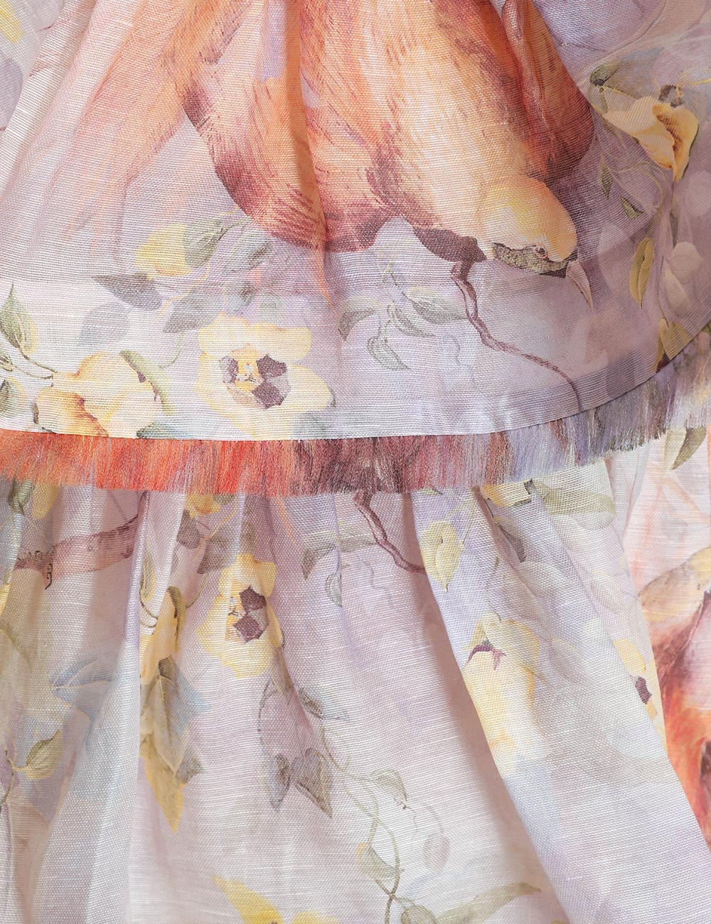 Botanica Frayed Edge Skirt