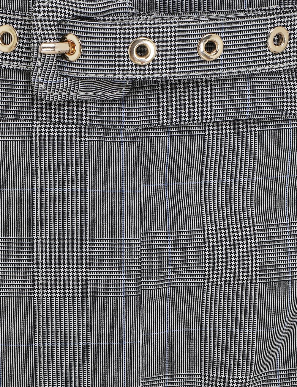 Luminous Check Trouser