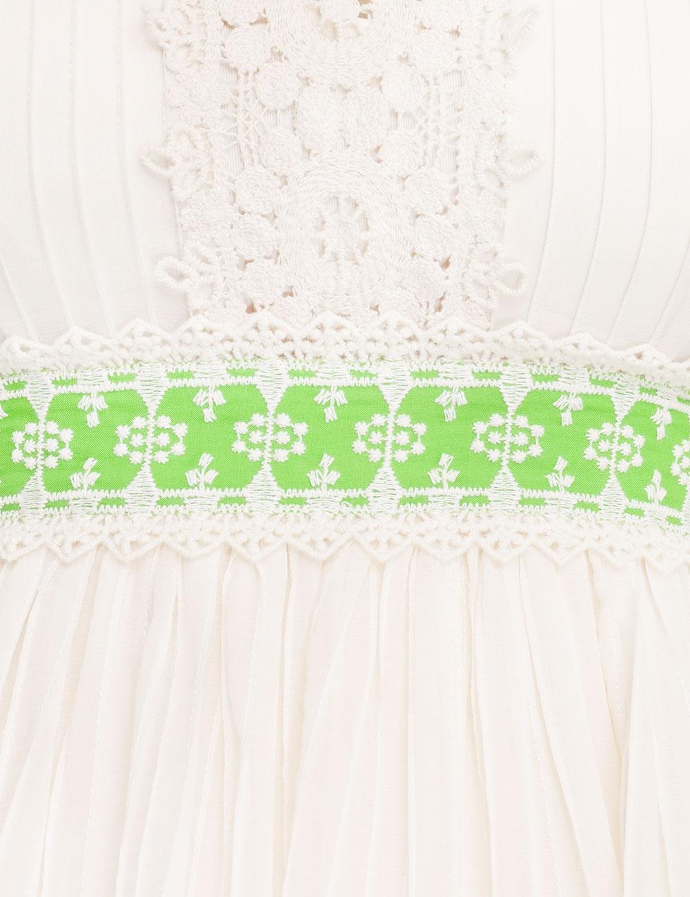 Estelle Pintuck Midi Dress