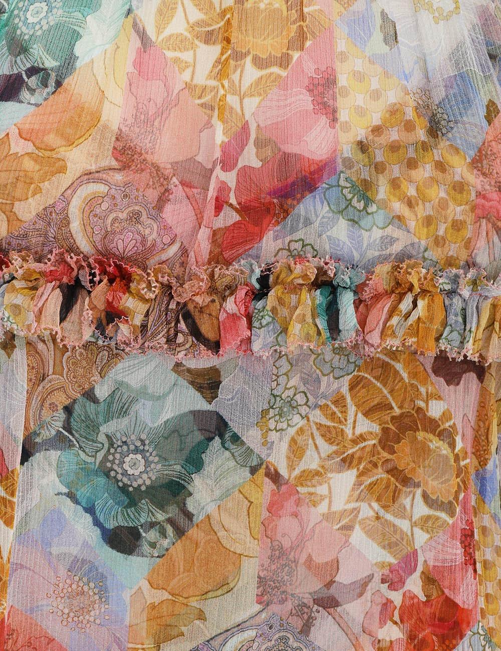 Tempo Kaleidoscope Blouse