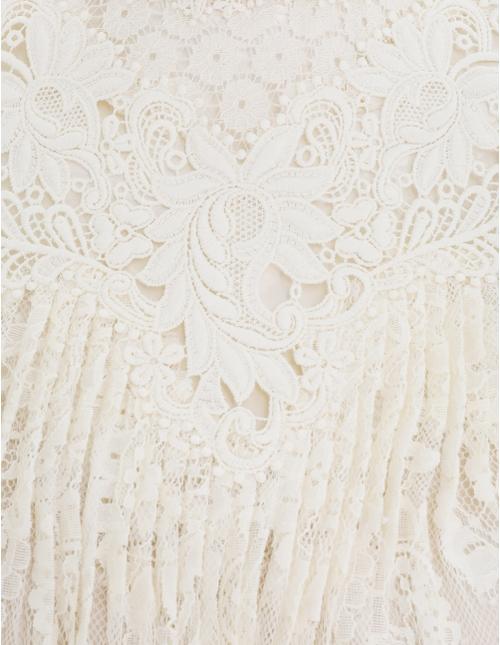 Concert Textured Lace Blouse