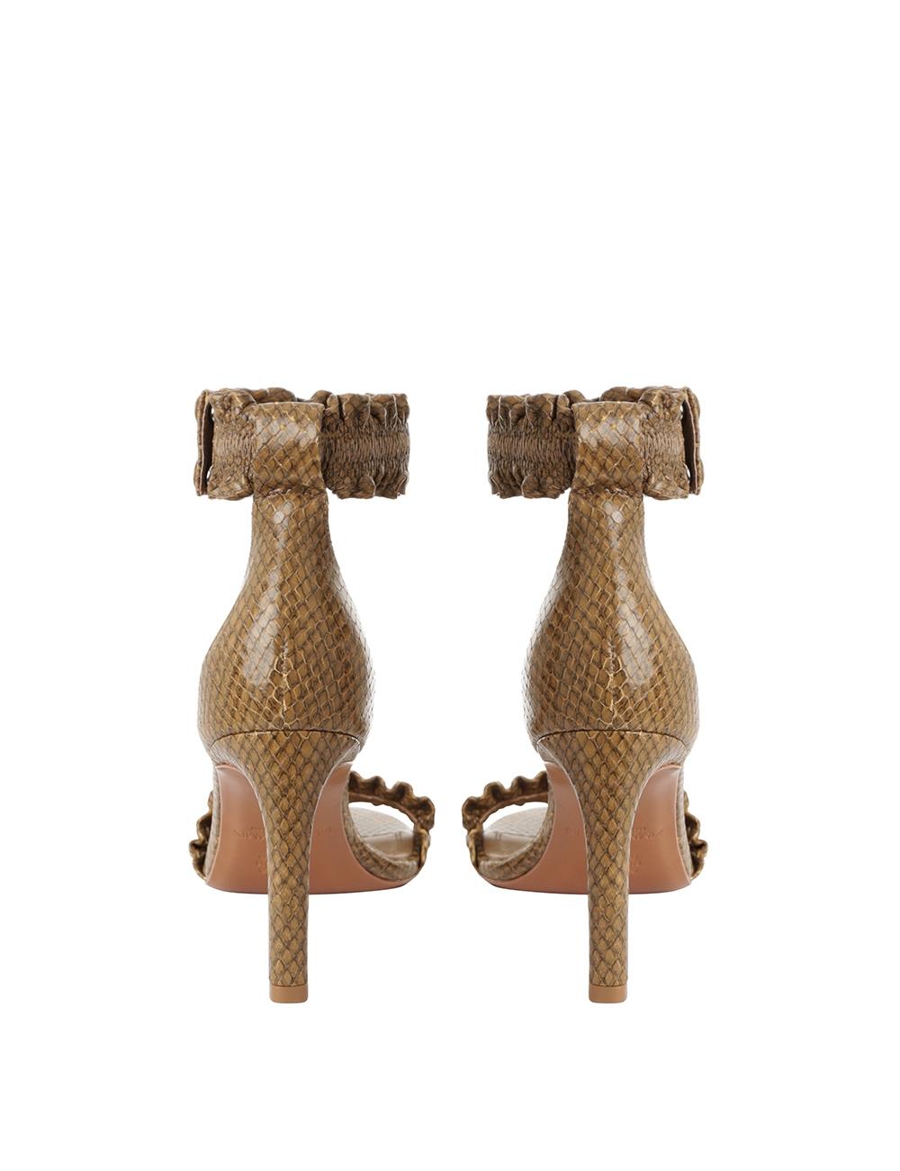 Elastic Strap Sandal