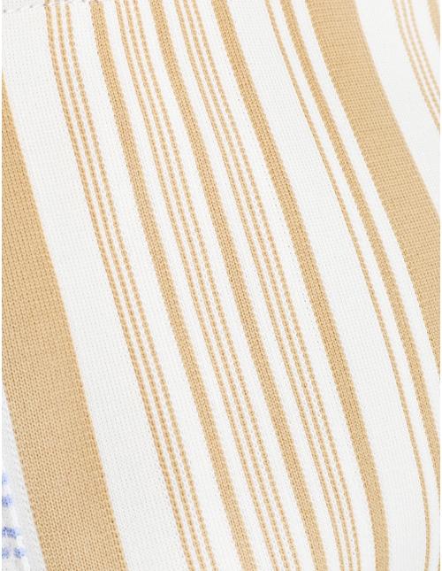 Jacquard Stripe Pouch