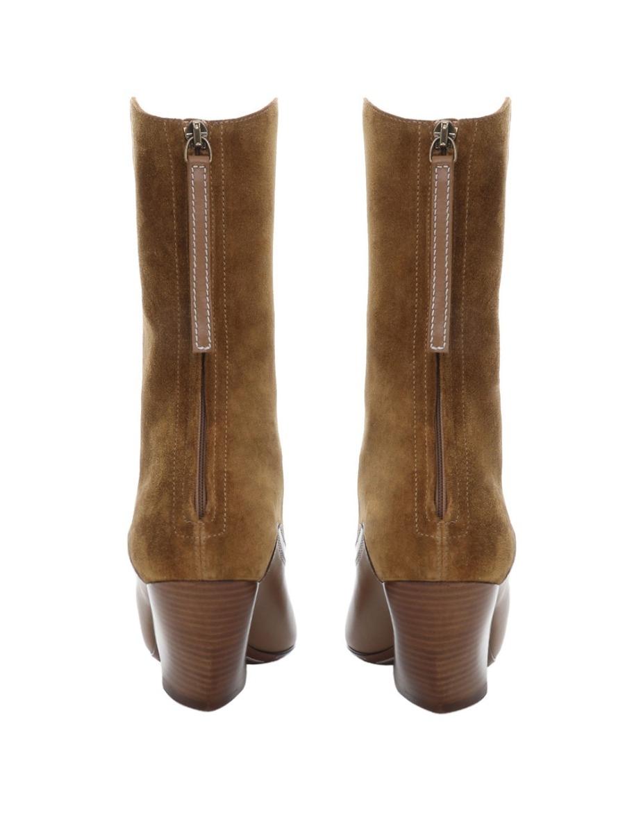 Panelled Tonal Boot