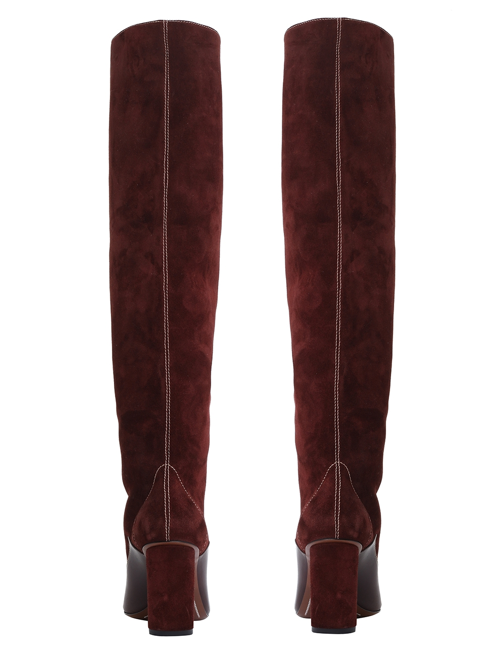 Panelled Slouch Boot