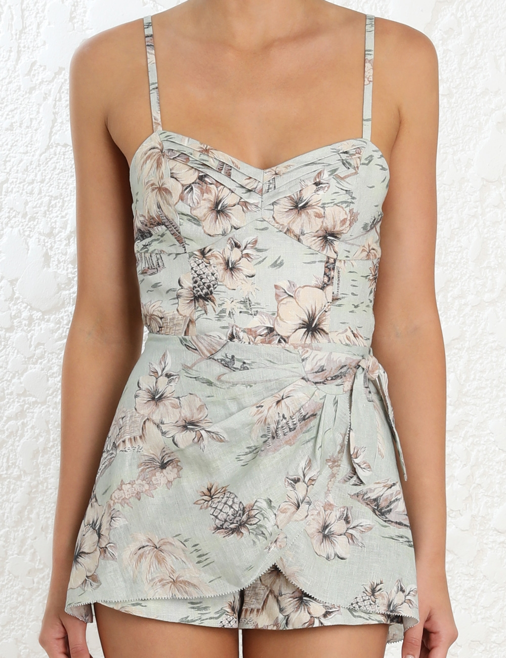 Wayfarer Wrap Playsuit